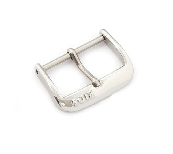 R-Classic Tang Buckle, silver polished