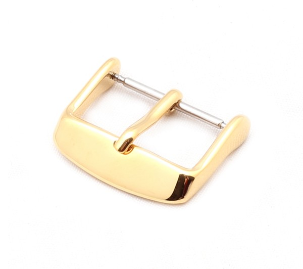 Tang Buckle Classic, gold polished