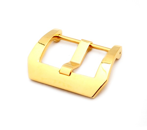 Screw-in Buckle PRE-V, gold polished