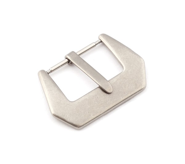 R-Tang Buckle Canada, silver brushed