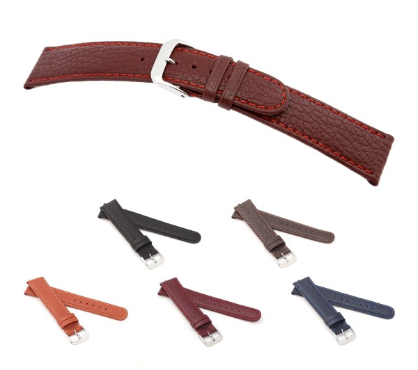"RIOS1931 XS Buffalo Leather Watch Band ""Texas"", 12-14 mm, 5 colors, new!"
