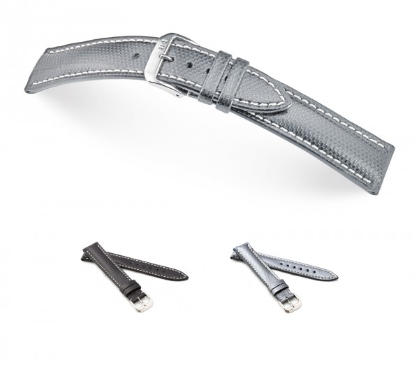 """RIOS1931 Genuine Ballistic Watch Band """"Next"""", 18-22 mm, 2 colors, new!"""