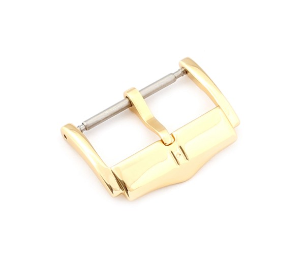 H-Catwalk Tang Buckle, gold polished