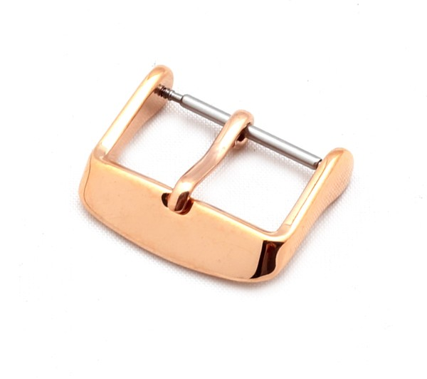 Tang Buckle Classic, rosé polished