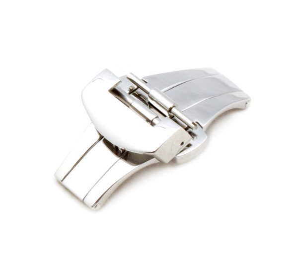 Deployment Clasp Firenze, silver polished