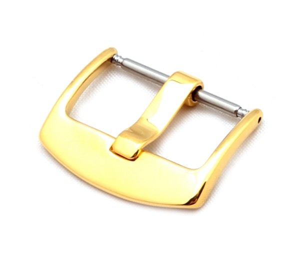 Tang Buckle OEM, gold polished