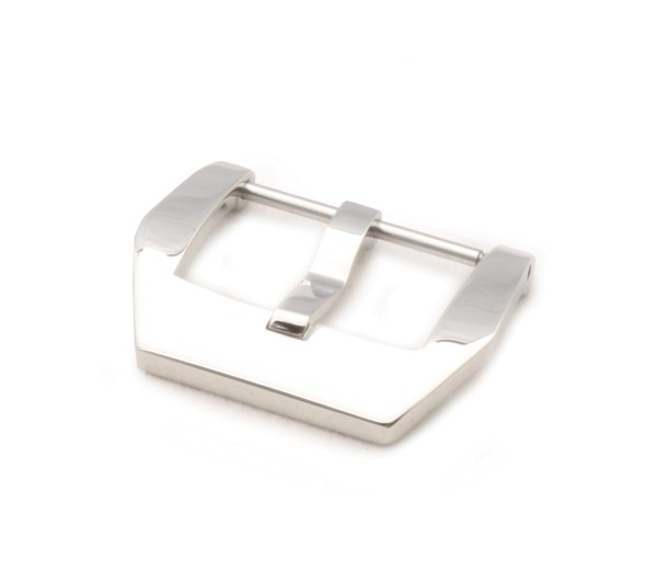 Screw-in Buckle PRE-V, silver polished
