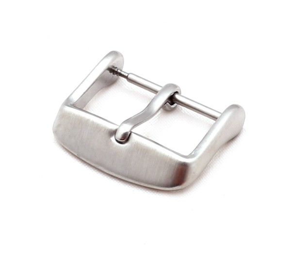 Tang Buckle Classic, silver brushed