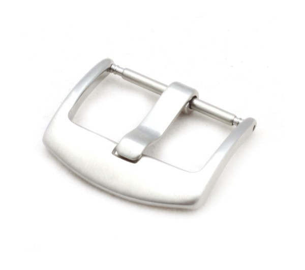 Tang Buckle OEM, silver brushed