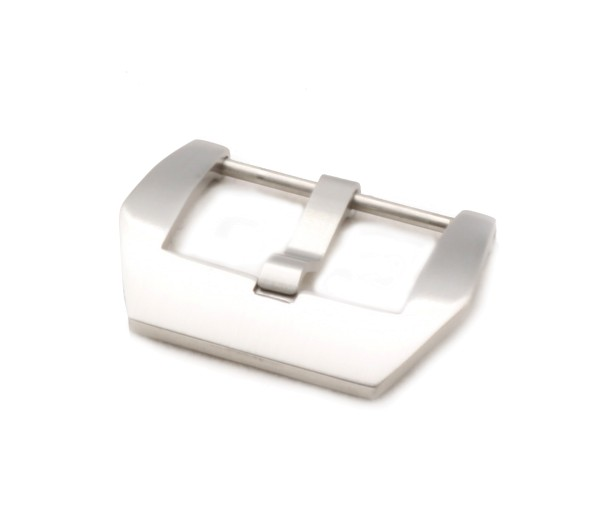 Screw-in Buckle PRE-V, silver brushed