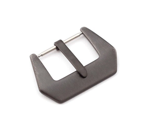 R-Tang Buckle Canada, black brushed