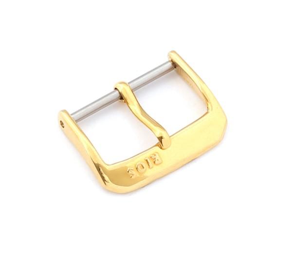 R-Klassik Dornschließe, gold poliert